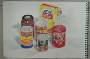 2nd Drawing Colour Pencil