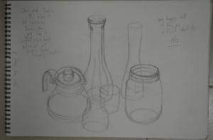 1st Sketch HB