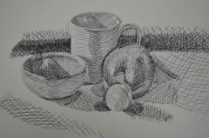 1st Drawing Using Ballpoint
