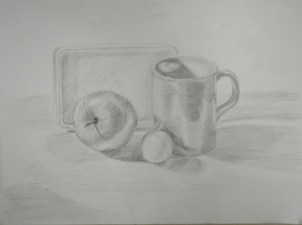 Tonal study of cup