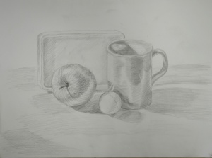 3rd Drawing Using 2B Pencil