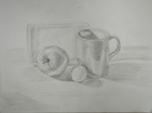 3rd Drawing Using 2B Pencil