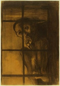The Convict, Odilon Redon 1881