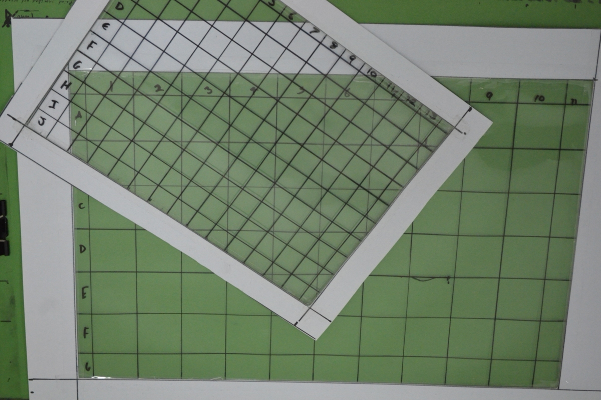 Acetate Grids for Enlarging an Image - My new scaling tools