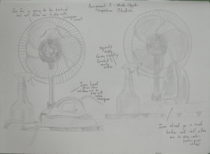 Assignment 1 - Made Objects - composition studies