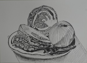 Still Life Group Using Line 2