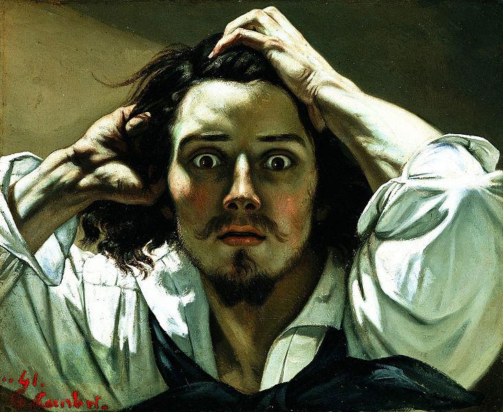 Gustave Courbet auto retrato
