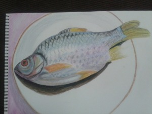 Fish on a Plate - fish complete