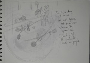 Preliminary Sketches - Third Compostion