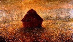 Haystacks on a Foggy Morning, 1891