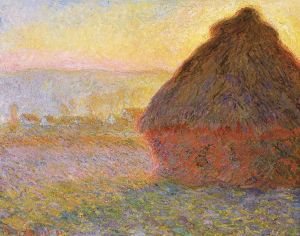 Grainstack. (Sunset.), 1890-91