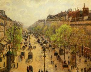 The Boulevard Montmartre Spring 1897