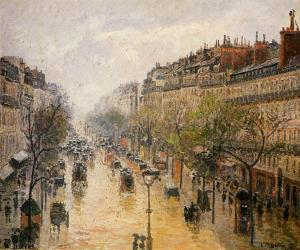 The Boulevard Montmartre Spring Rain