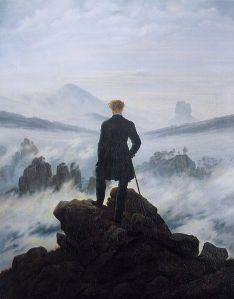 Caspar David Friedrich: The wanderer above the Sea of Fog
