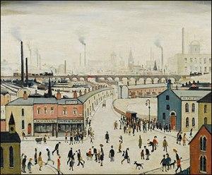 L.S. Lowry An Industrial Landscape 1958