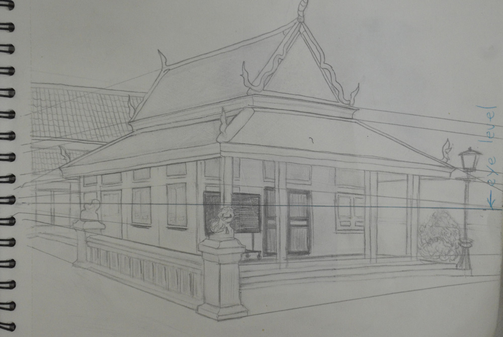 2 Angular Perspective My Drawing Course