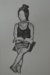 1st Drawing - A Practise with Charcoal