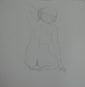 2nd Drawing at School 2 minutes