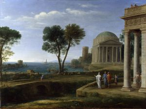 Landscape with Aeneas at Delos