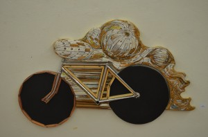 Wood Carving and Bicycle Frame