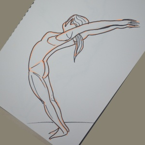 15 - Felt Tip Pens Back Bend in Proportion