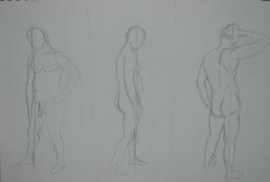 First three stances 2B on A4