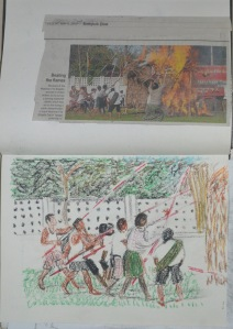 7th Drawing - Burma Fire Brigade - Bangkok Post