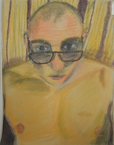 4 - Fourth Self Portrait in Soft Pastel