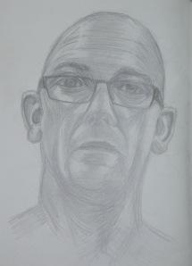 7 - Seventh Self Portrait in 4B