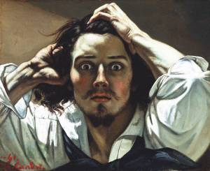 Gustave Courbet The Desperate Man