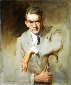 James Montgomery Flagg - Self Portrait 1956