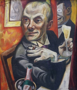 Max Beckmann Self Portrait