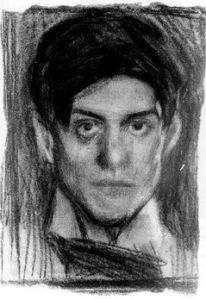Pablo Picasso Portrait 1900