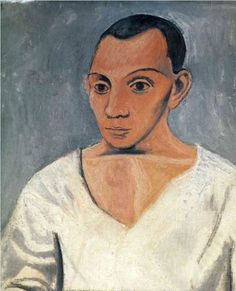 Pablo Picasso Self Portrait 1906
