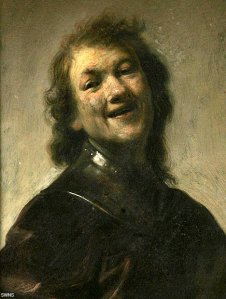 Rembrandt Self Portrait 1600s