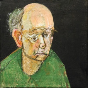 William Utermohlen Self-Portrait (Green)