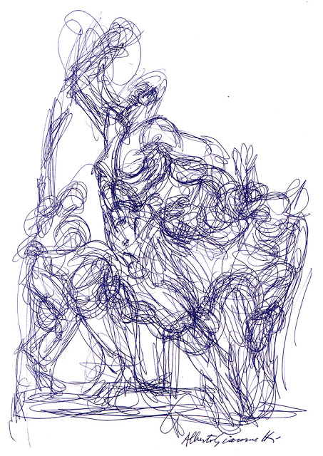 Line Drawing Artist Research : Pt drawing figures research point how artists use