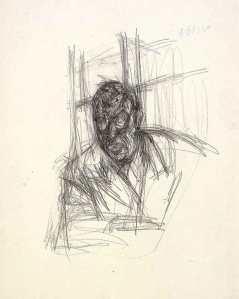 Alberto Giacometti, Jean-Paul Sartre, 1946