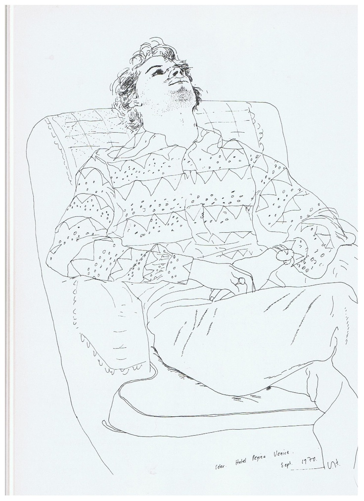Famous Continuous Line Artists : Pt drawing figures research point how artists use