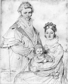 The Alexandre Lethiere Family 1819