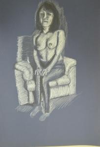 Tonal Study Nude in Monotone