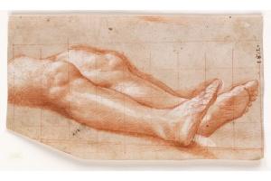 Bernardino Gatti Il Sojaro - Study of Horizontal Legs