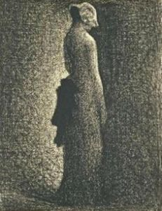 Georges Seurat Le noeud noir