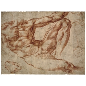 Study for Adam Michelangelo