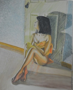 12 - Watercolour Pencil, Watercolour Paint and Gouache