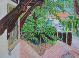 Assignment 3 - Alternative Drawing in Oil Pastel