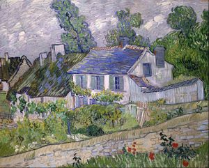 2 - Vincent van Gogh Houses at Auvers