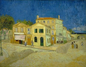 3 - Vincent van Gogh The Yellow House - The Street