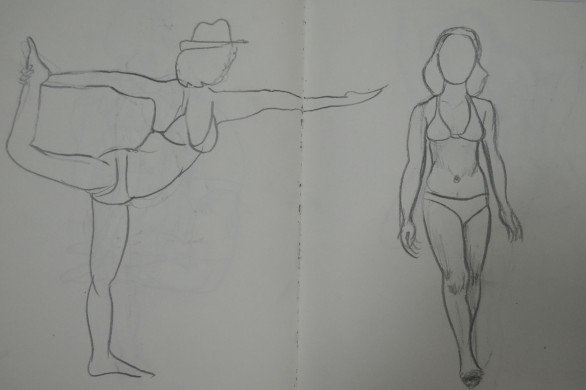 9 two More Quick Poses